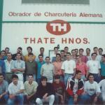 1990-91 PATRO 2ª div. Presentación de Thate Hnos como sponsor del 1ª Reg