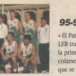 1995-96 EBA Bilbao Patronato d 19960525 prest