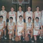 1995-96. Caja Bilbao El Salvador cadete