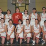 1995-96. Maristas infantil subcampeón liga