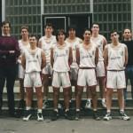1999-00. PATRO Maristas junior 5º Euskadi
