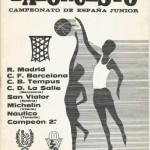 19780502 Ctº España Junior Patro campeón de 2ª