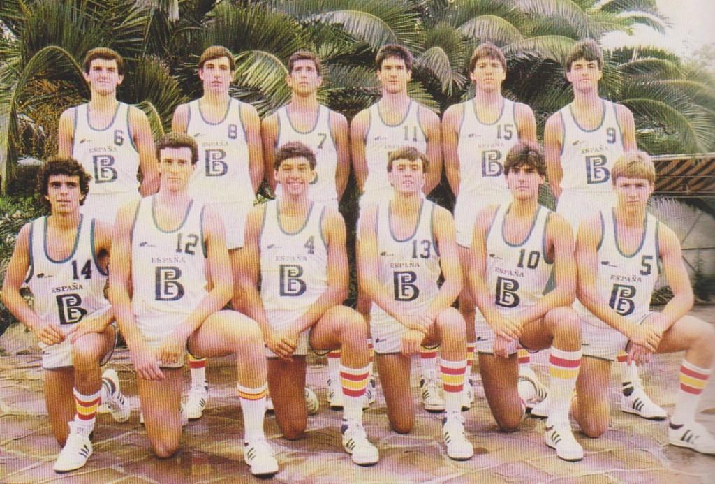1984 Selección Española Junior