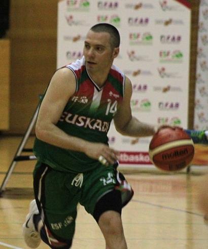 2017-18 con la selección de Euskadi