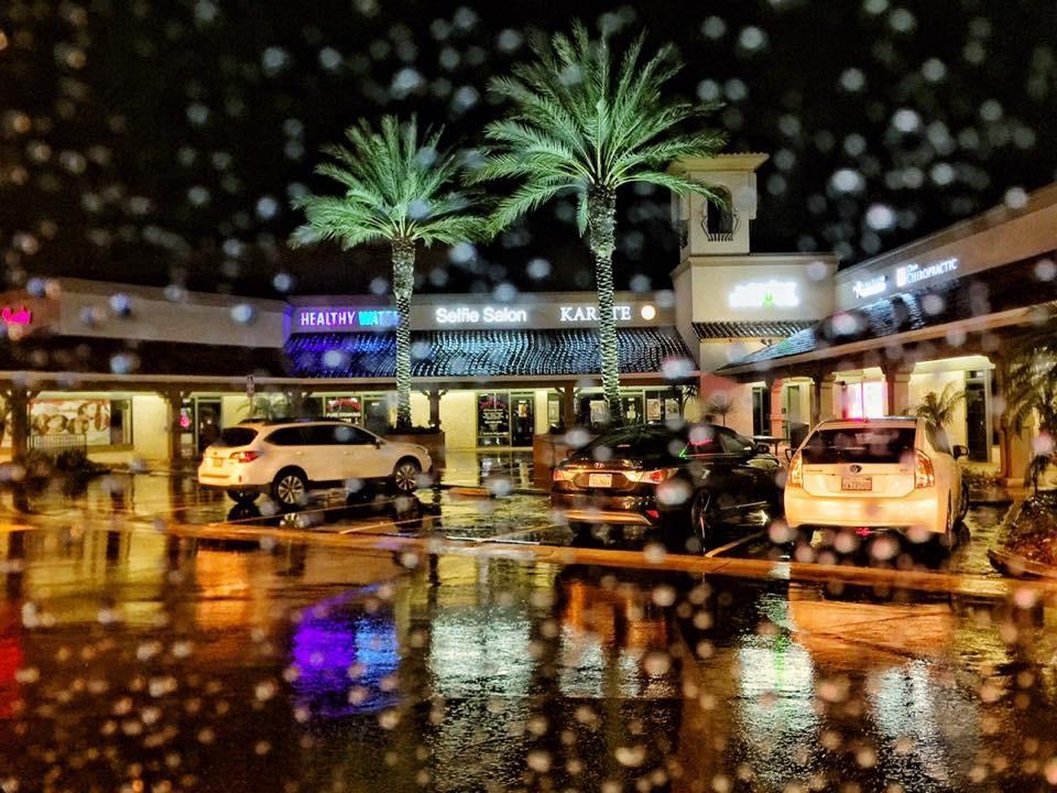 Kamala Venkatesh - Rainy Parking Lot