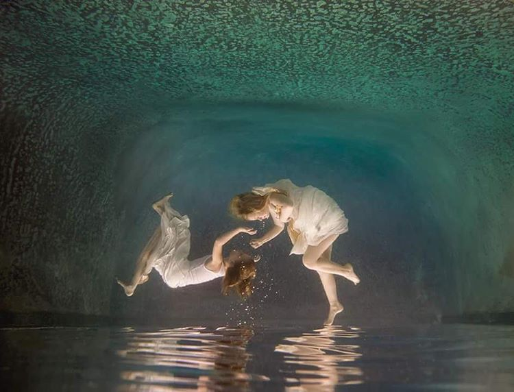 Underwater Portrait Photography (C) Erika Thornes