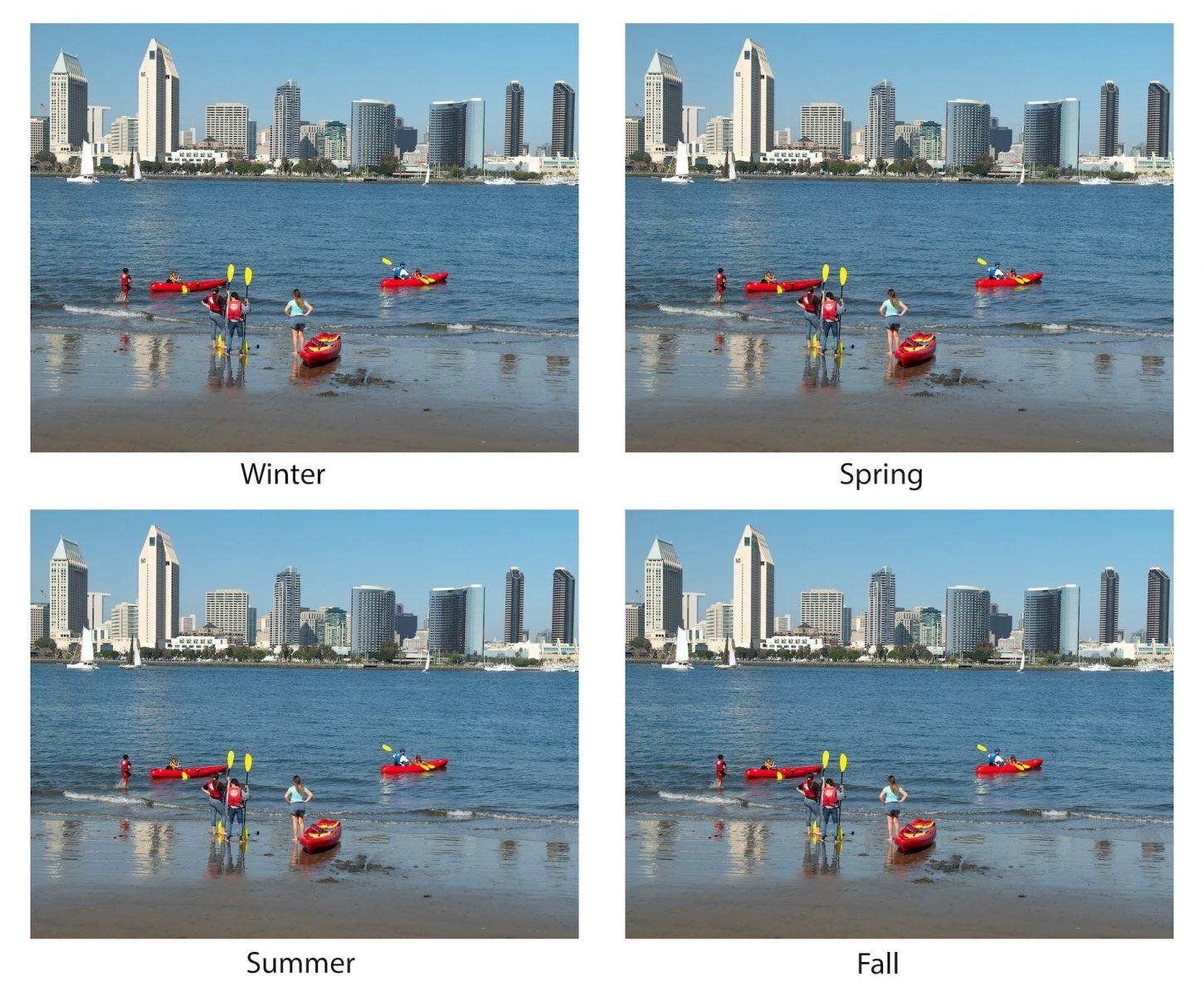 David Klich - The Four Seasons of San Diego