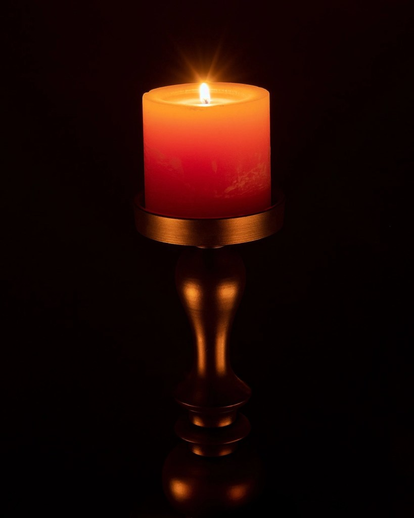 Dean Angelico: Simple candle light sheds a primal warmth