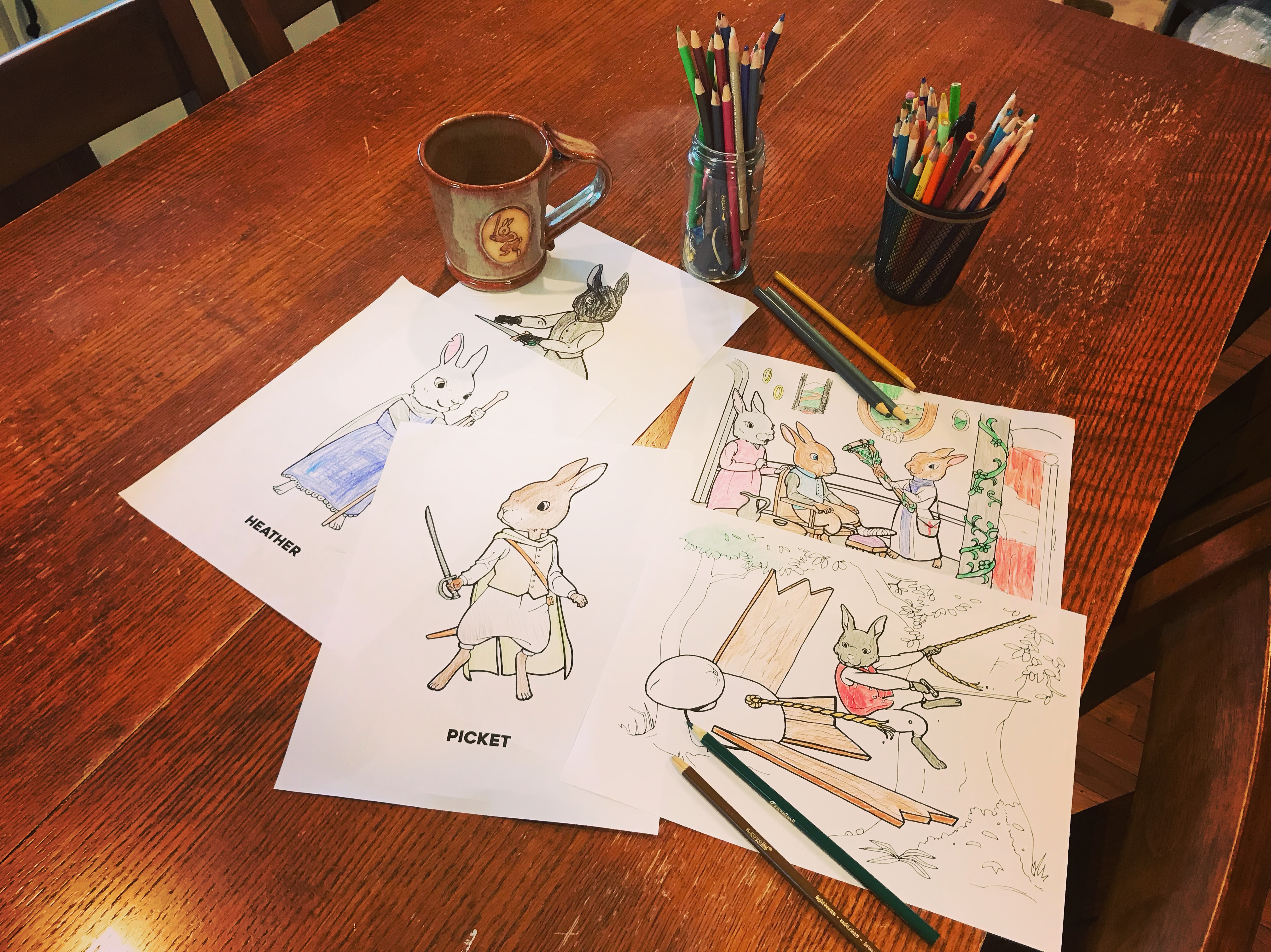 GIMME 5! (Get Free Green Ember Coloring Pages For Giving ...