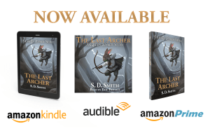 The Last Archer AUDIOBOOK, EBOOK Now Here! (Amazon, Audible—>Available!)