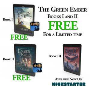 The Green Ember Books I and II ARE FREE for a Limited Time!