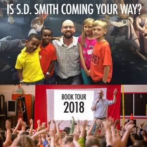 S. D. Smith Book Tour 2018: Green Ember Author Coming Your Way?