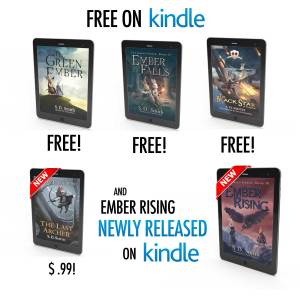 Free Books, Giveaways of Mug and Much More, and…OH YEAH! The New Green Ember Releases Today!
