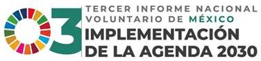 Logo. Tercer Informe Nacional Voluntario de México sobre la Implementación de la Agenda 2030