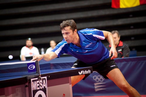 Vladimir Samsonov - photo by the ITTF