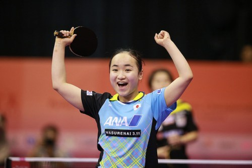 Mima Ito - photo by the ITTF