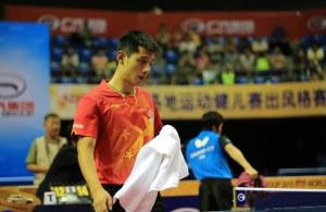 "Zhang Jike - photo provided ""courtesy of the ITTF"""