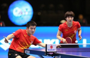 fan zhendong and chen meng - photo by the ITTF