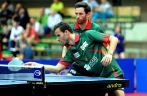 Joao Monteiro and Tiago Apolonia - photo by the iTTF