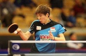 Zhou Yihan - photo by the ITTF