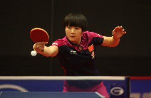 Chen Meng - photo by the ITTF
