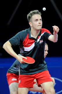 Andrew Baggaley - photo by the ITTF