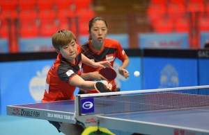 Feng and Yu - photo by the ITTF