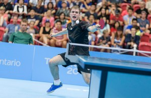 Pierre-Luc Theriault - photo by the ITTF