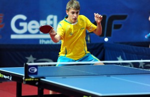 Anton Kallberg - photo by the ITTF
