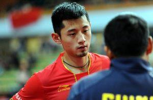 Zhang Jike - photo by the ITTF