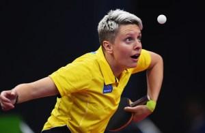 Matilda Ekholm - photo by the ITTF