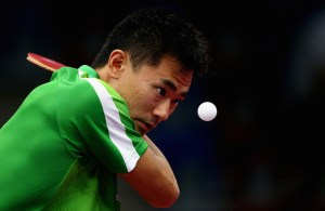 Kou Lei - photo by the ITTF