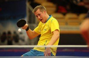 Mattias Karlsson - photo by the ITTF