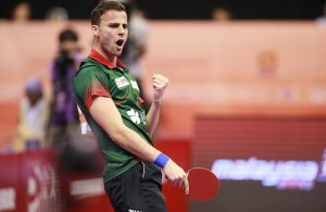Tiago Apolonia - photo by the ITTF
