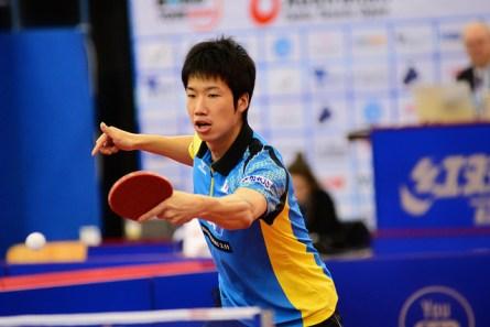Jun Mizutani - photo by the ITTF