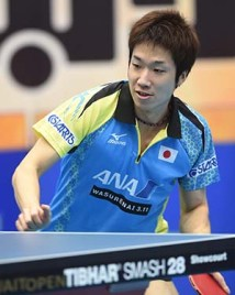 Mizutani - photo by the ITTF