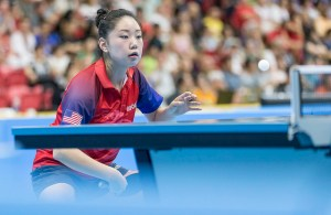 Lily Zhang - photo by the ITTF