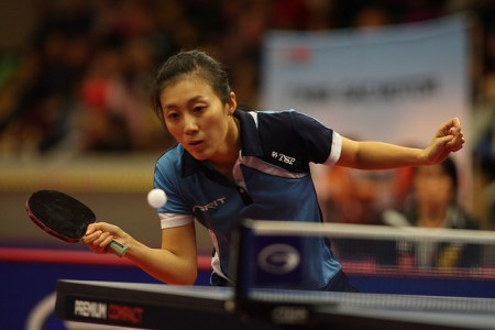 Han Ying - photo by the ITTF