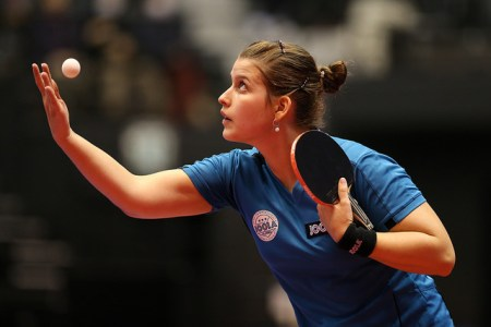 Petrissa Solja - photo by the ITTF