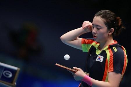 Jeon Jihee - photo by the ITTF