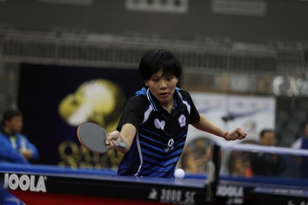 Cheng I-Ching - photo by the ITTF