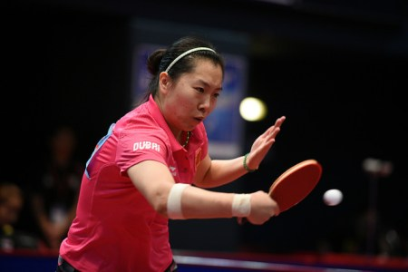 Li Xiaoxia - photo by the ITTF
