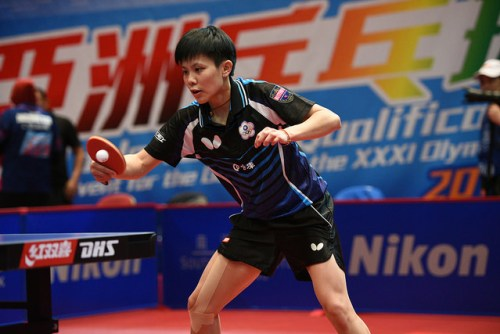 Ching - photo by the ITTF
