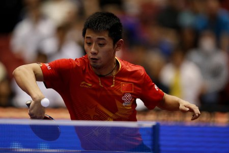 Zhang Jike - photo by the ITTF