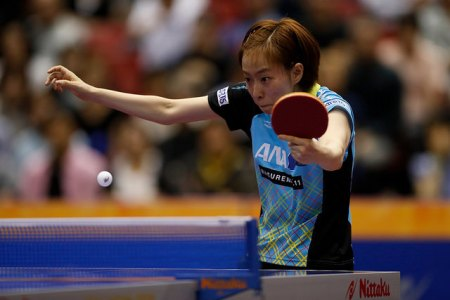 Kasumi Ishikawa - photo by the ITTF