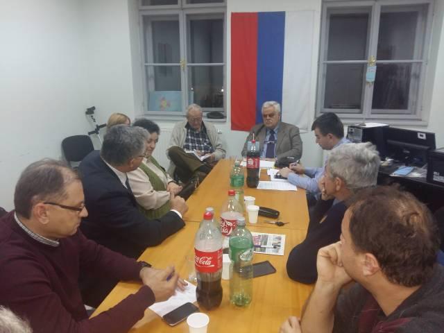 Припремни састанак за одржавање Скупштине пожешко-славонске жупанијске организације