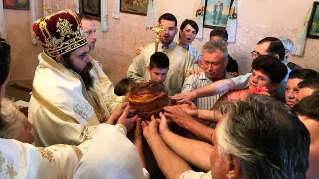 Наког дуго времена литургија у Чепину