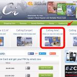 カナダのコーリングカードをオンラインで購入する方法