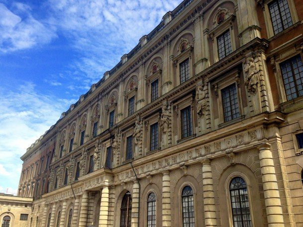 The Stockholm Palace is just one example of the brilliant architecture found in the city.