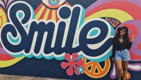 Gorgeous murals run all along Bondi Beach